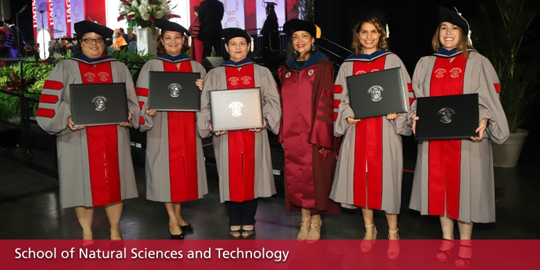 Graduated Students: School of Natural Sciences and Technology